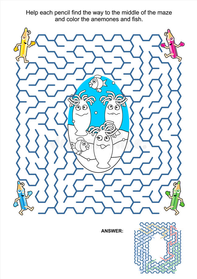 fish coloring pages games kids - photo#4