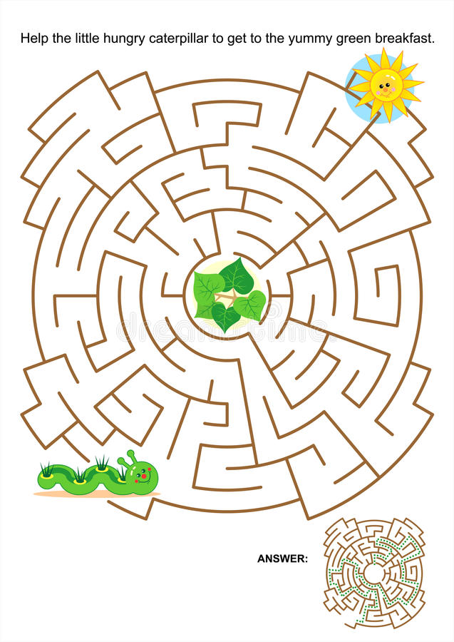 Free Maze Game For Kids Stock Images - 31324304