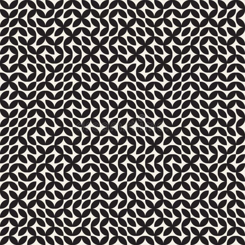 Maze Line irregular Diseño geométrico abstracto del fondo ilustración del vector