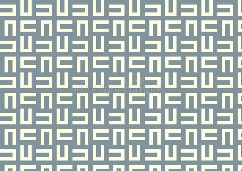 Download Maze Pattern On Pastel Color Stock Vector - Illustration of flourish, blue: 37636797