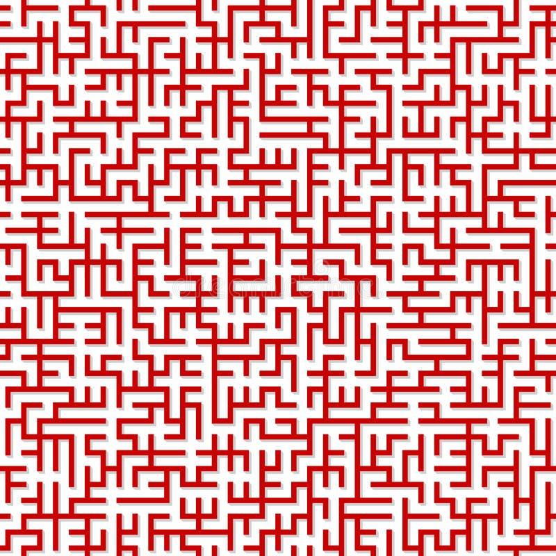 Maze. Seamless Pattern. Stock Photography