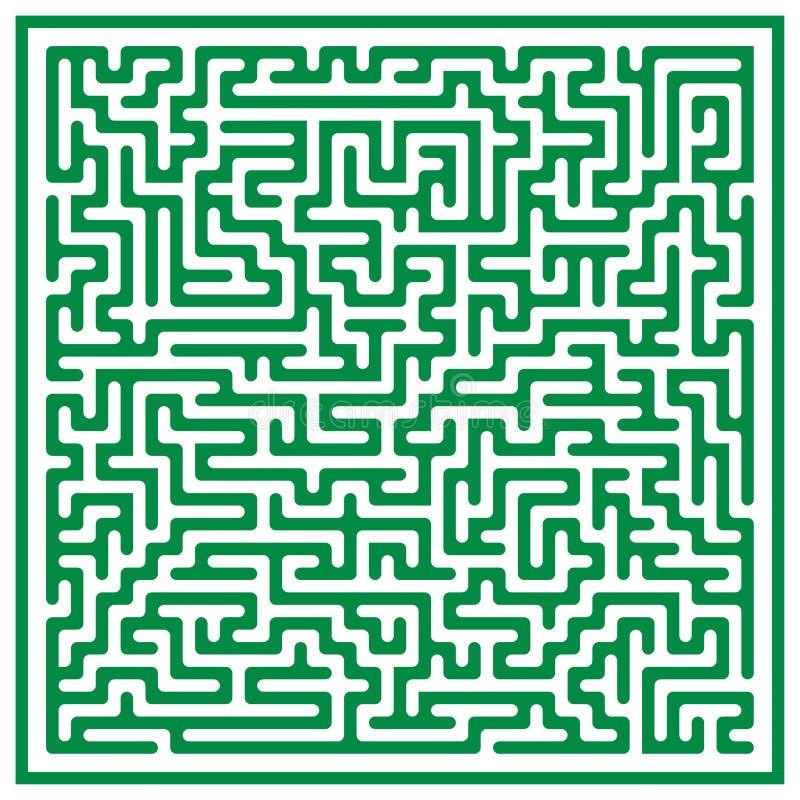 Maze (vector) stock photography