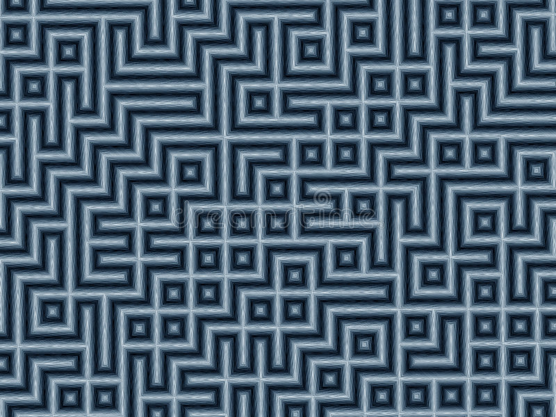 Download Mazeblyertspenna stock illustrationer. Bild av linjärt, monochromatic - 49984
