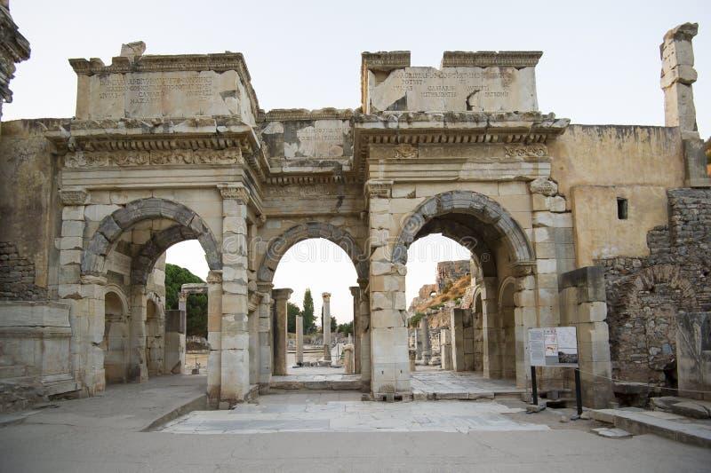 Download Mazeusa And Mithridates Gate In Ephesus. Stock Photo - Image: 33747580