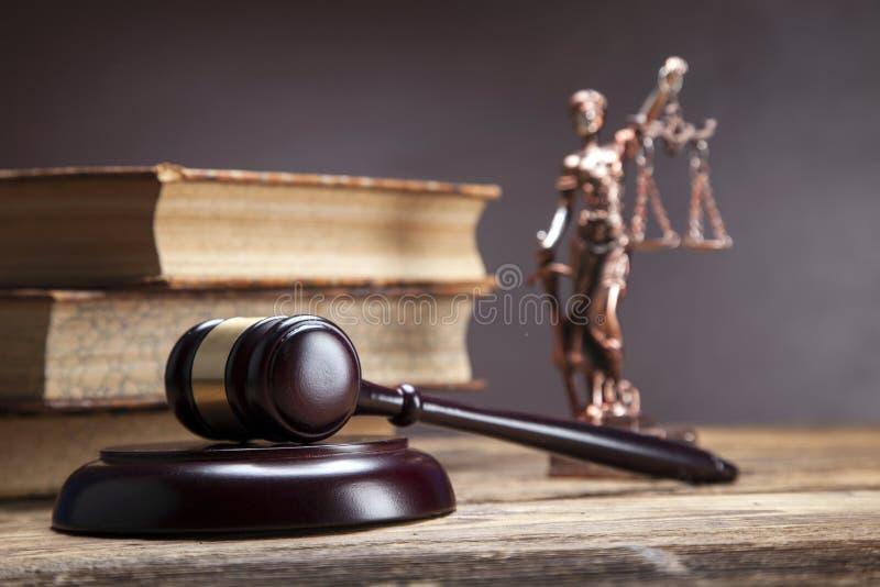 ¡Mazo de la justicia! fotos de archivo