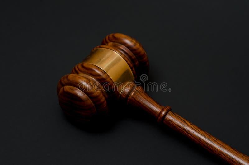 Mazo judicial imagen de archivo