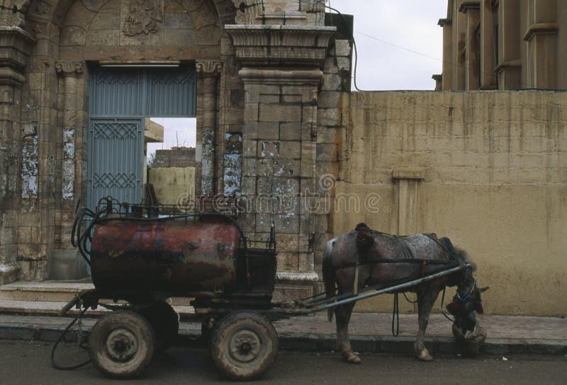 mazut Syrie de chariot photos stock