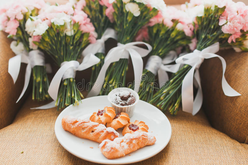 Mazzi di nozze fotografia stock libera da diritti