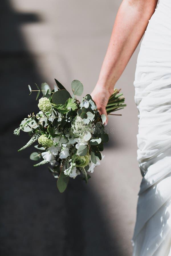 Mazzo alla moda di nozze di Boho fotografia stock