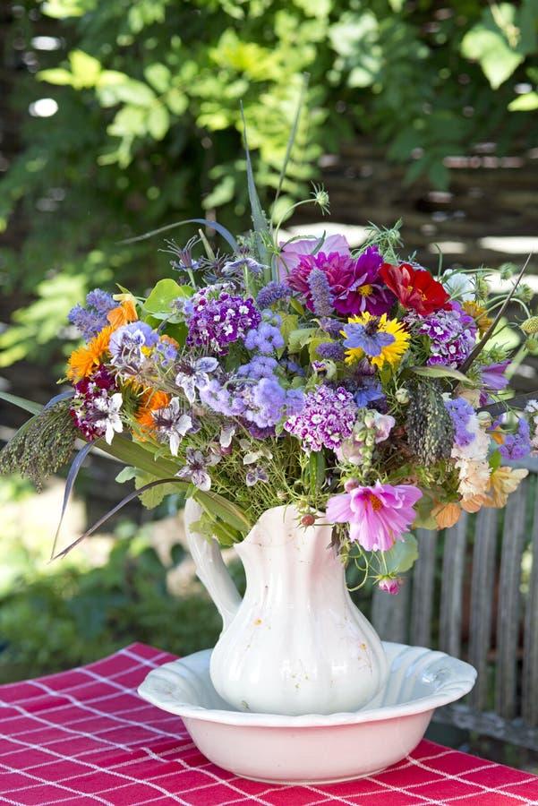 Mazzo Colourful di estate fotografia stock