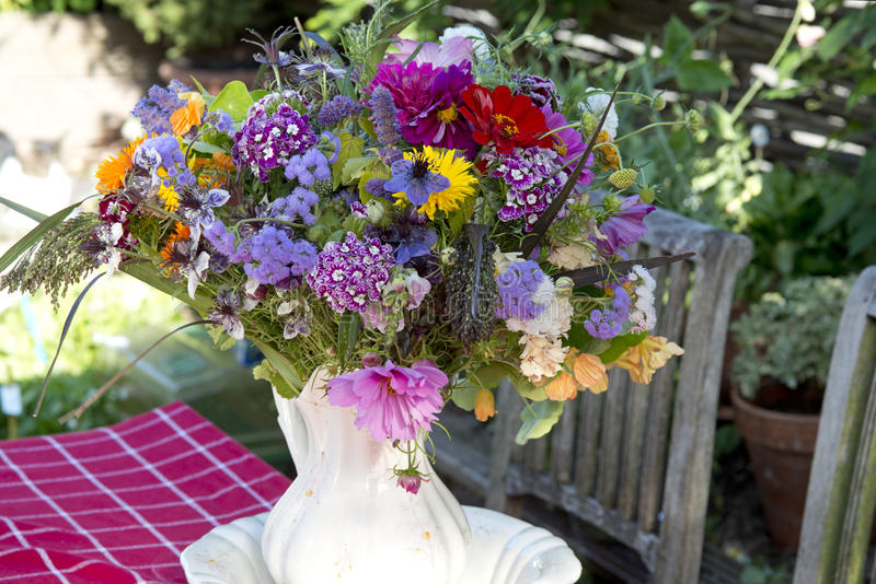 Mazzo Colourful di estate immagine stock libera da diritti