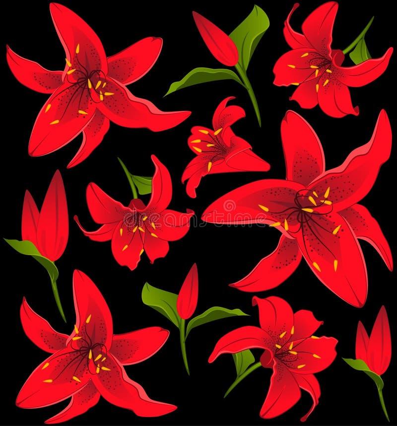 Mazzo dai fiori illustrazione di stock