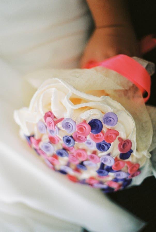 Mazzo dei fiori di cerimonia nuziale immagini stock libere da diritti