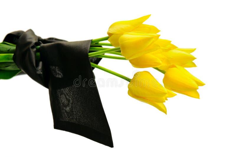 Mazzo dei fiori gialli immagine stock libera da diritti
