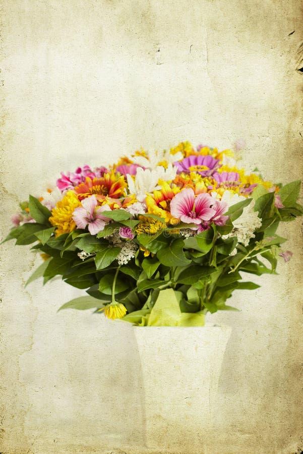 Mazzo dei fiori selvaggi illustrazione di stock