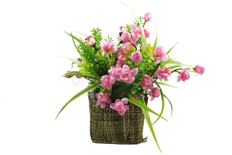 Mazzo dei fiori in un vaso immagine stock
