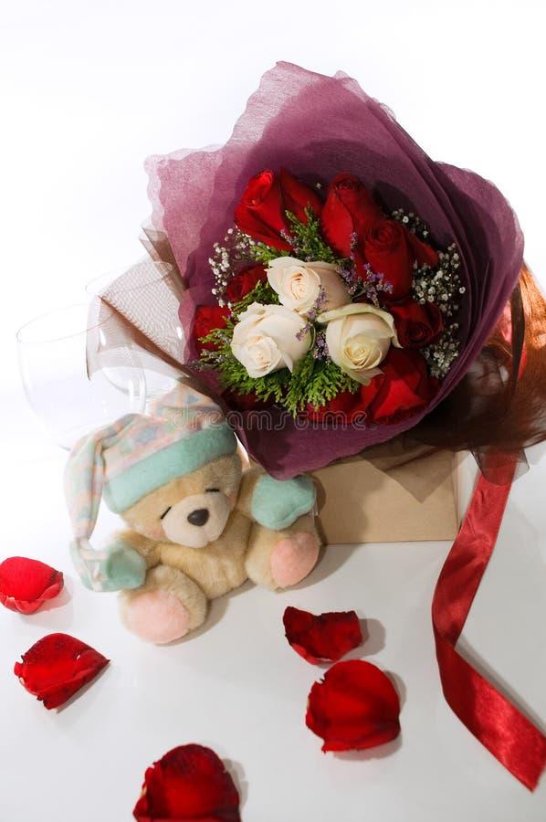 Mazzo del biglietto di S. Valentino immagine stock libera da diritti