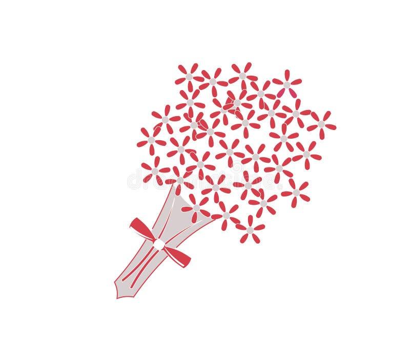 Mazzo del fiore royalty illustrazione gratis