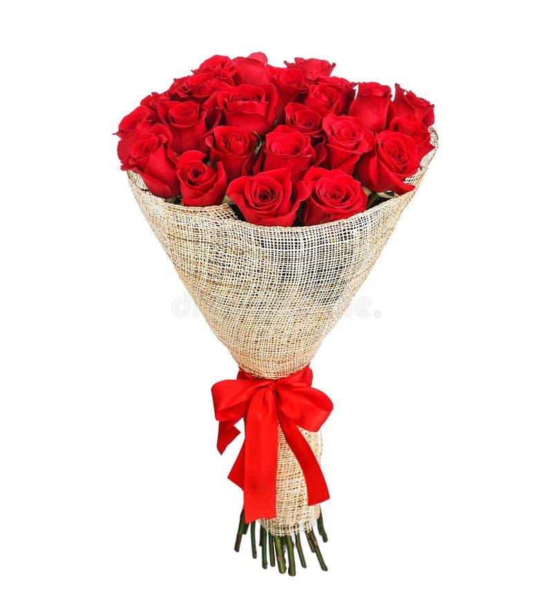 Mazzo del fiore delle rose rosse immagine stock libera da diritti