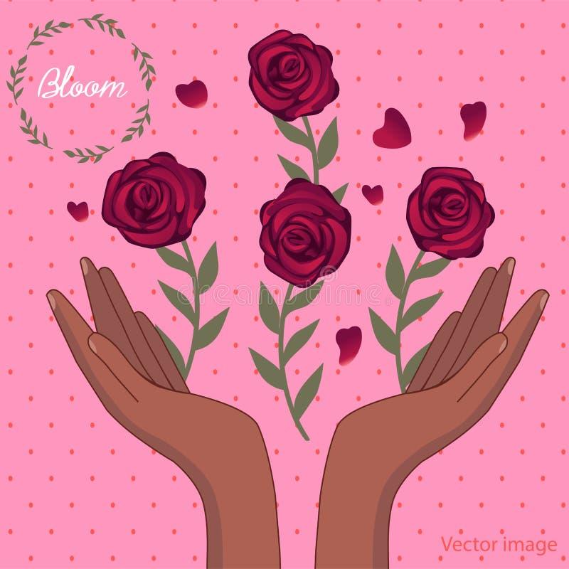 Mazzo dell'immagine dei fiori royalty illustrazione gratis