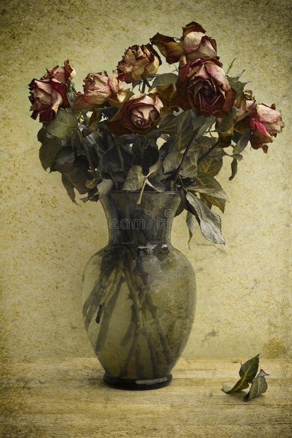 Mazzo delle rose di morte. royalty illustrazione gratis
