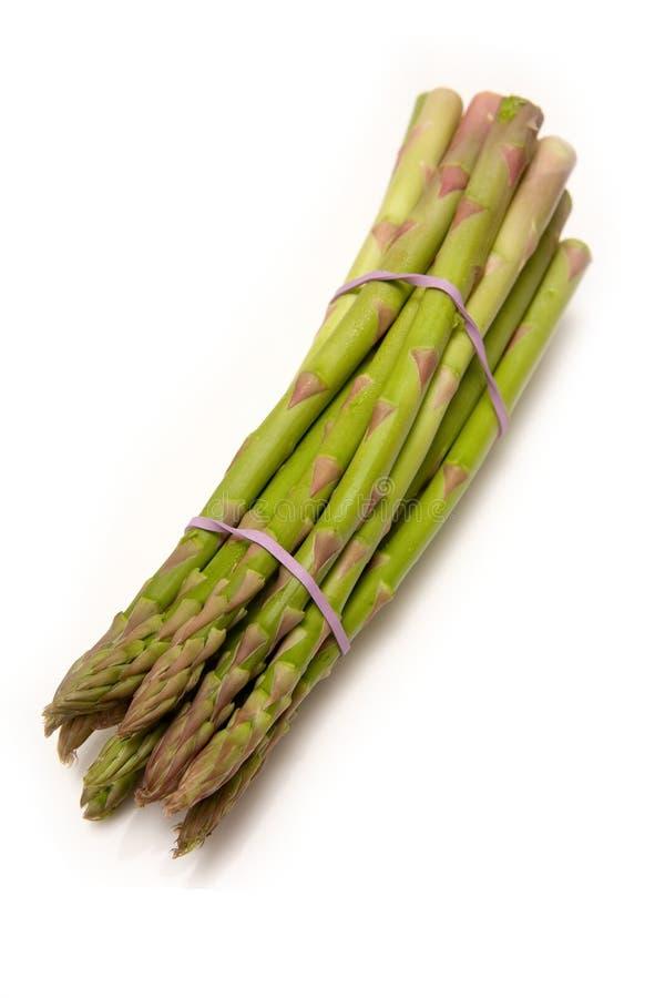 Mazzo di asparago fotografia stock