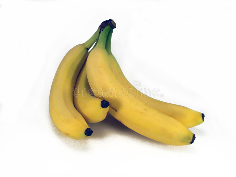Mazzo di banane immagini stock libere da diritti