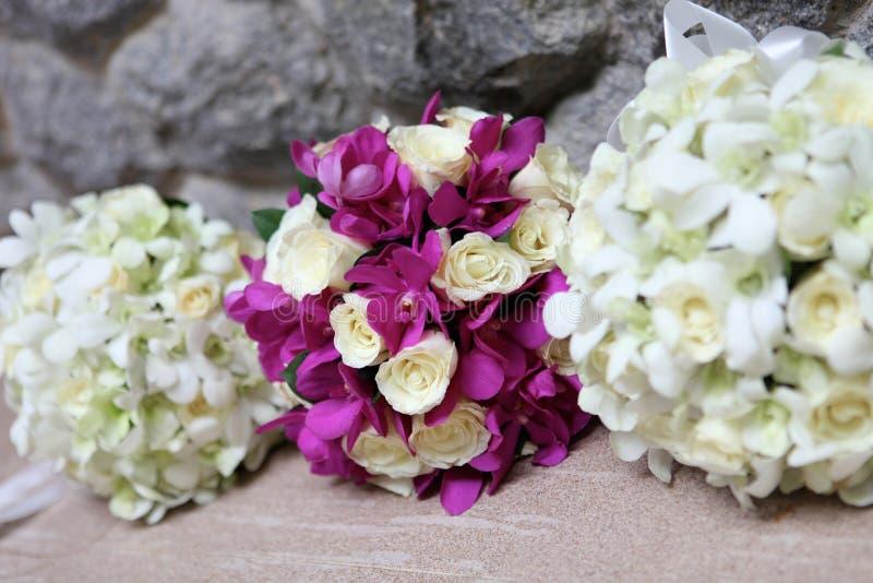Mazzo di cerimonia nuziale. immagine stock
