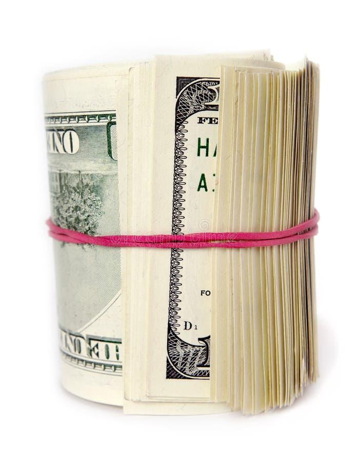Mazzo di dollari. immagine stock libera da diritti