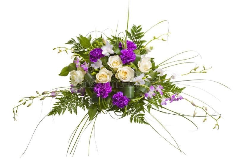 Mazzo di fiori fotografie stock