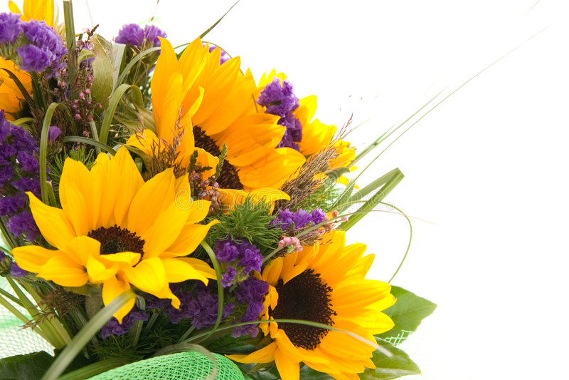 Mazzo di fiori immagini stock