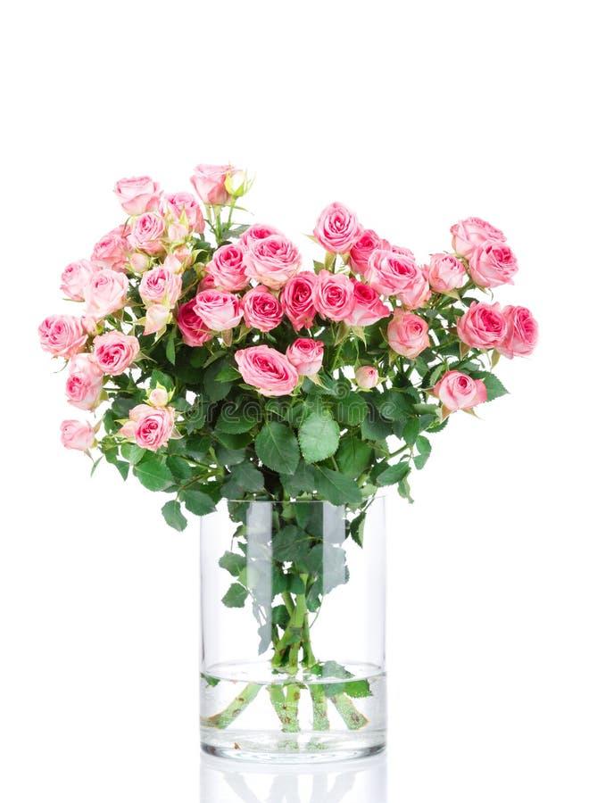Mazzo di fiori nel vaso immagine stock libera da diritti