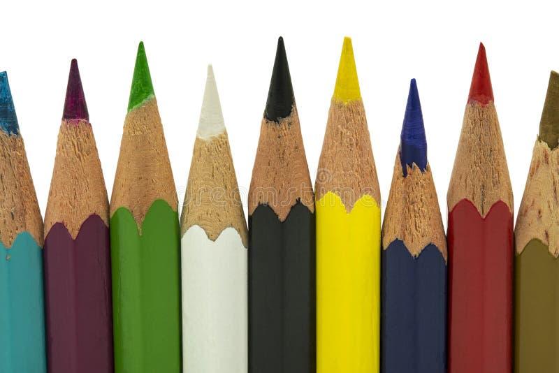 Mazzo di matite fotografia stock
