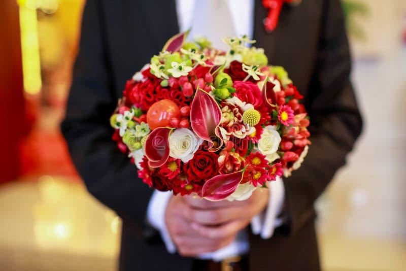 Mazzo di nozze fotografia stock libera da diritti