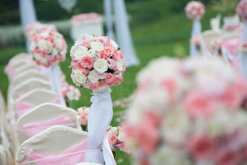 Mazzo di nozze fotografia stock