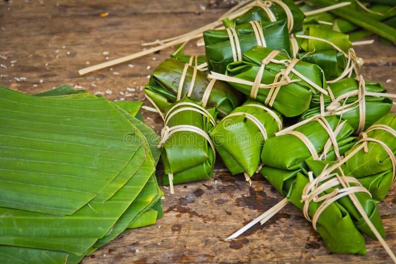Stile Tailandese Del Dessert A Cui Inserisca La Banana Ed ...