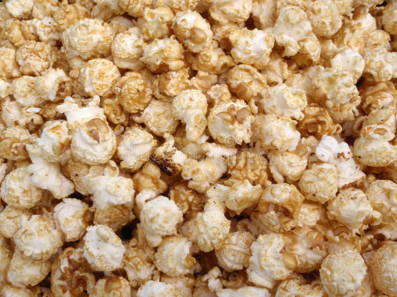 Mazzo di popcorn del cereale della caldaia immagine stock libera da diritti
