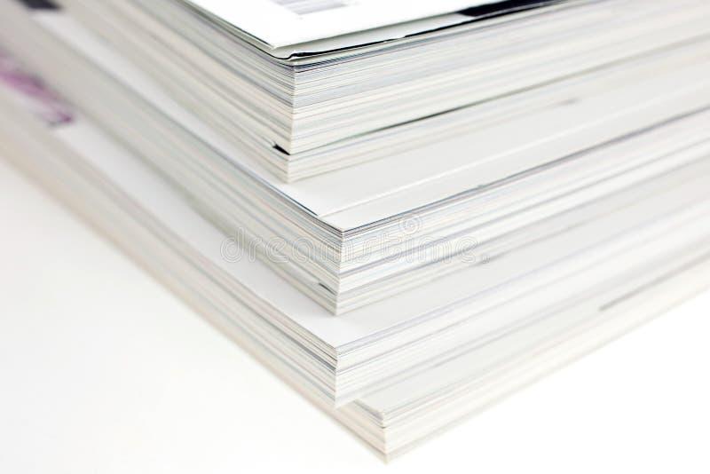 Mazzo di scomparti usati fotografie stock libere da diritti