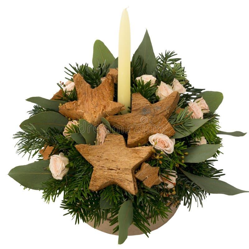 Mazzo festivo dei fiori in un bello pacchetto immagini stock