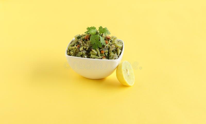 Mazzo vegetariano indiano sano Bean Curry dell'alimento immagine stock