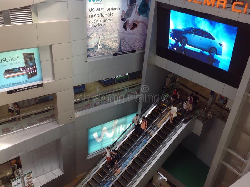 MBK Center, shopping mall in Bangkok. MBK Center, also known as Mahboonkrong , is a large shopping mall in Bangkok, Thailand. At eight stories high, the center stock images