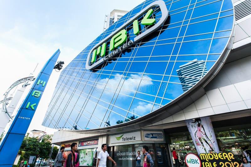 MBK centrerar i Bangkok royaltyfri bild