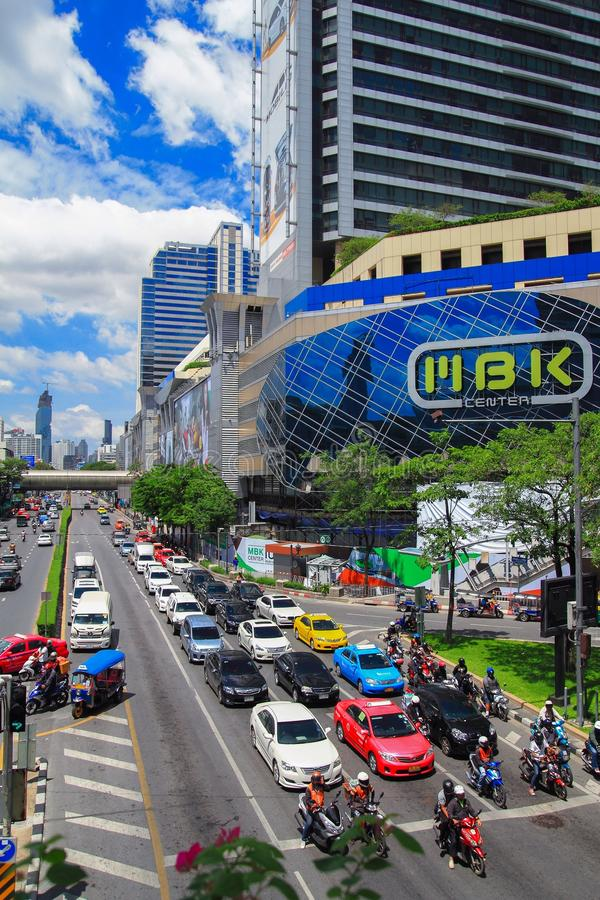 MBK-Centrum, winkelcomplex in Bangkok royalty-vrije stock fotografie