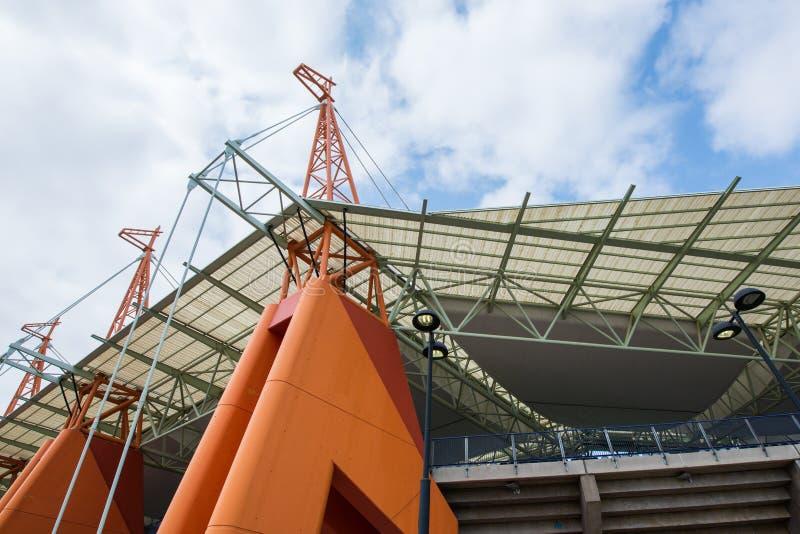 Mbombela Stadium Afrique du Sud de Nelspruit images stock