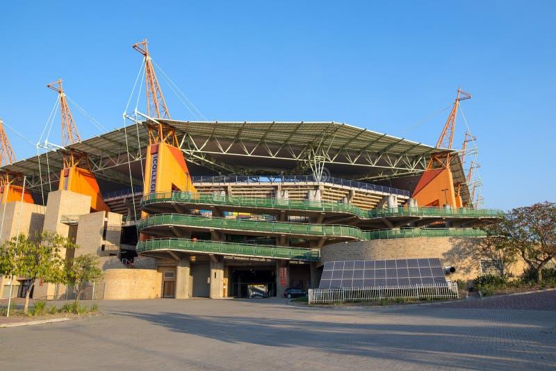 Mbombela Stadium, Nelspruit, Südafrika stockbild