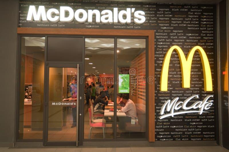 Download Mc Cafe redaktionell fotografering för bildbyråer. Bild av wuhan - 27276894