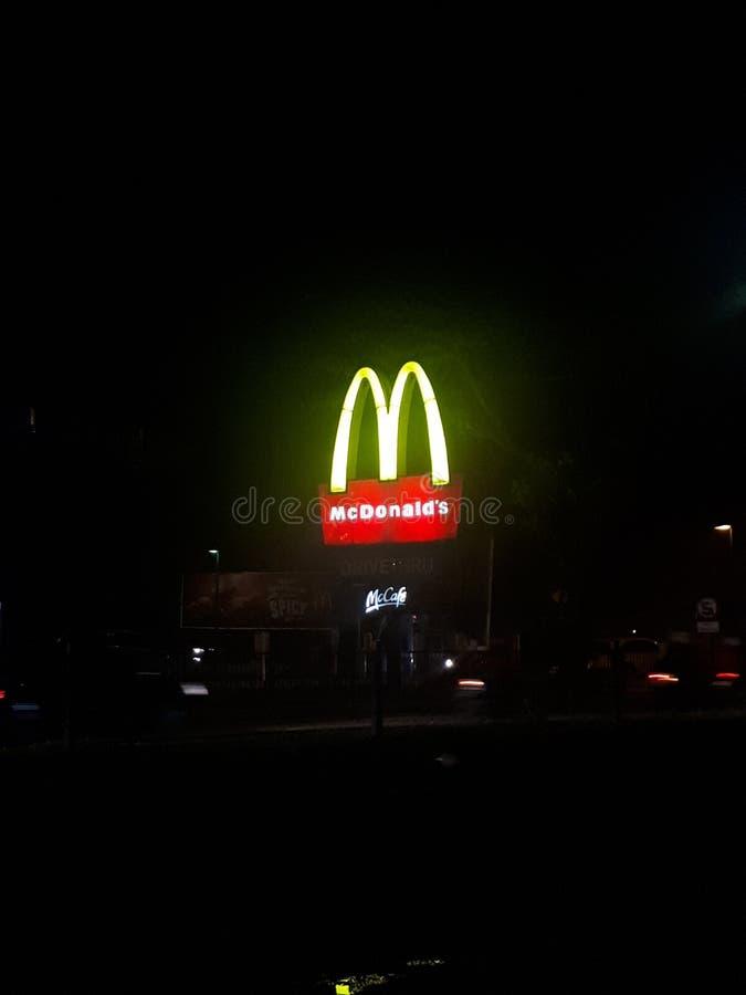 MC Donald στοκ φωτογραφία