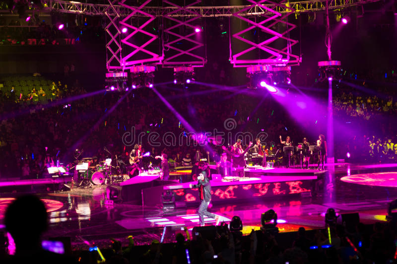 Download Mc Hotdog Shanghai Live Show Editorial Stock Image - Image: 28334004