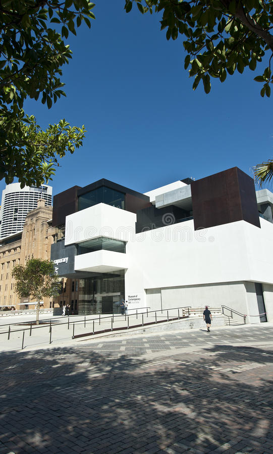 MCA Sydney New Wing opens royalty free stock photo
