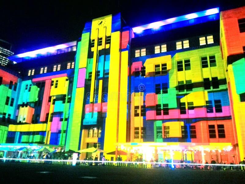 MCA at Vivid Sydney Festival stock photo